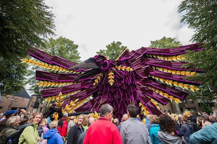 gartenskulpturen blumenparade die niederlande vögel figur