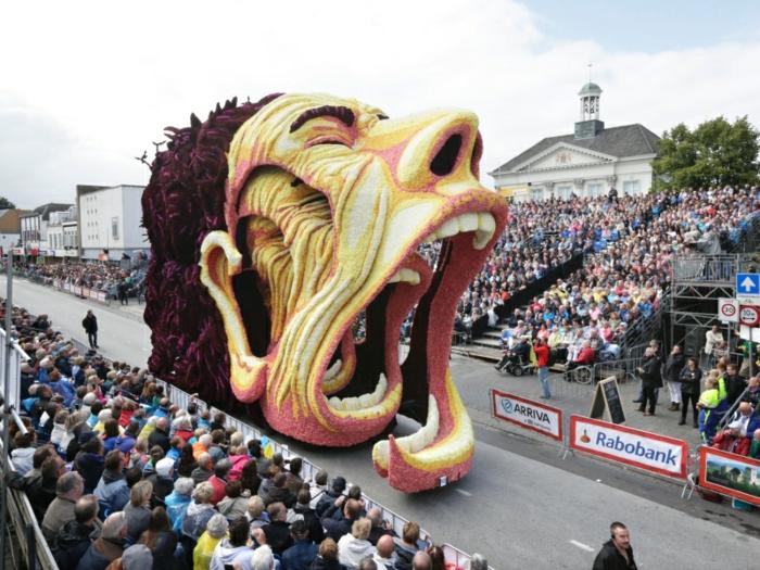 gartenskulpturen blumenparade van gogh augefallene blumenfigur