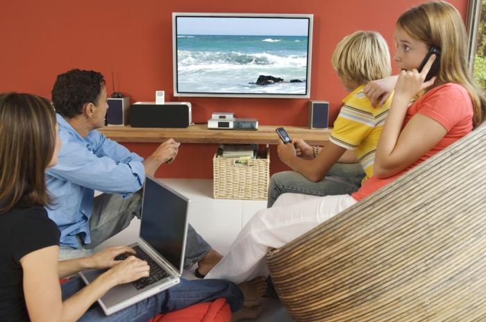 gesunder lebensstil buch lesen oder fernsehen familienleben