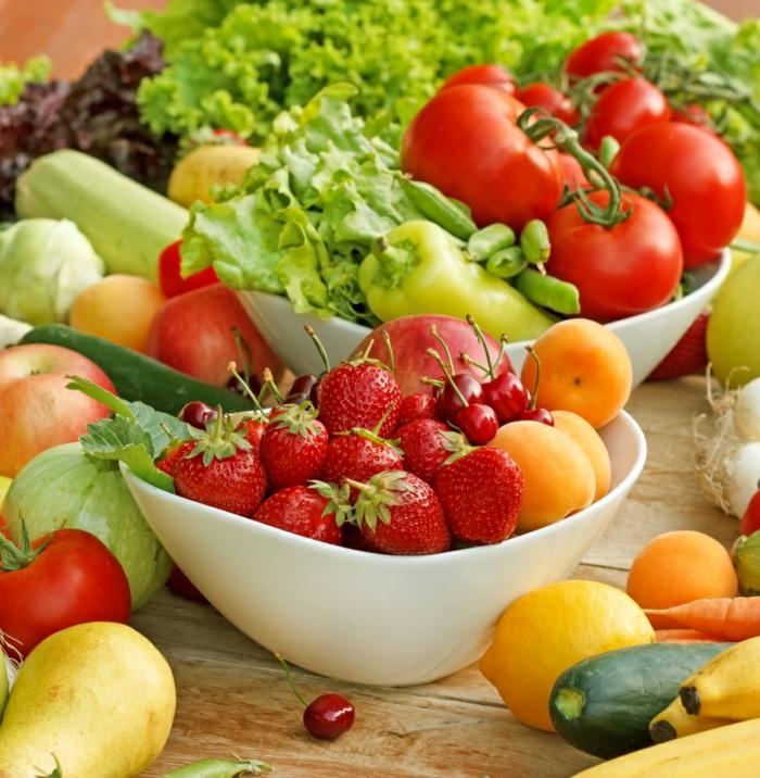 gesundes essen tipps früchte gemüse lifestyle