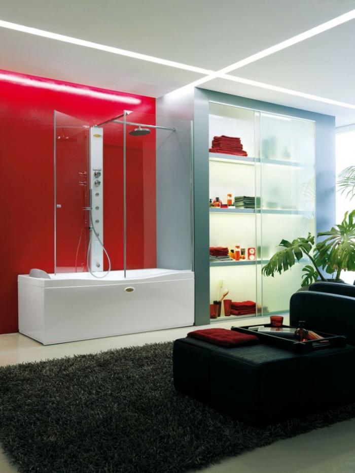 glasfasertapete modern wasserabweisend glänzende oberfläche