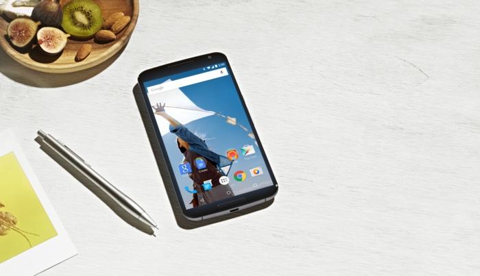 google nexus 6 innovation elegantes design