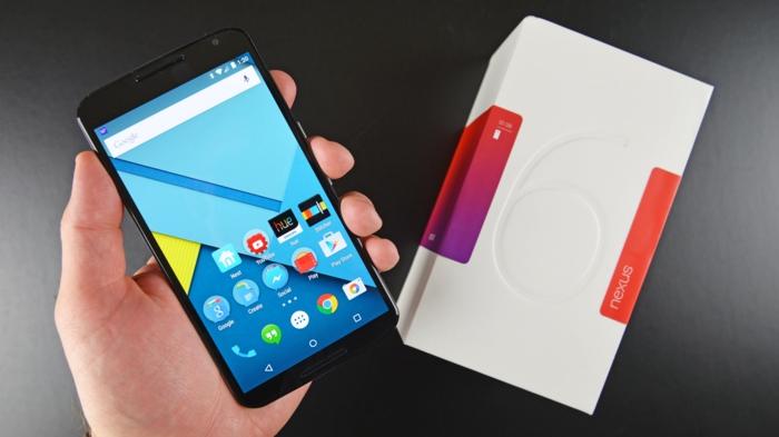 google nexus 6 neues design moderne technologie