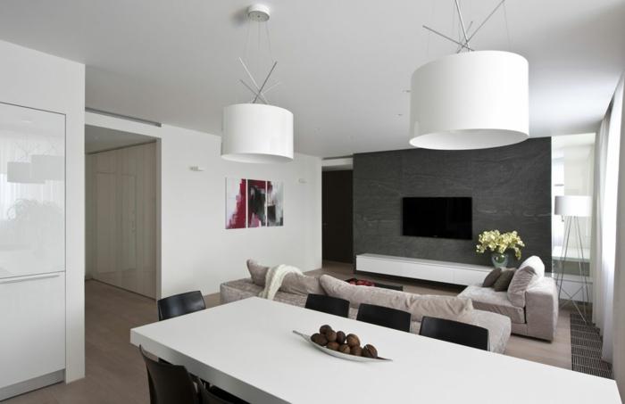 Moderne Lampen Wohnzimmer war nett stil für ihr haus ideen