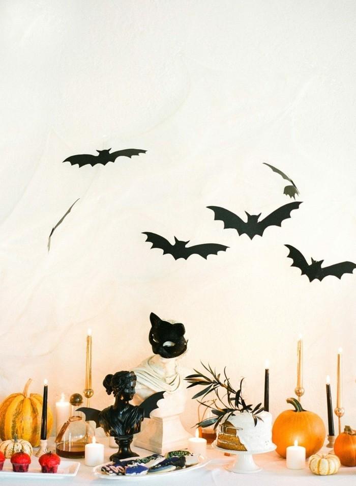 halloween deko für innen gruselige dekoideen