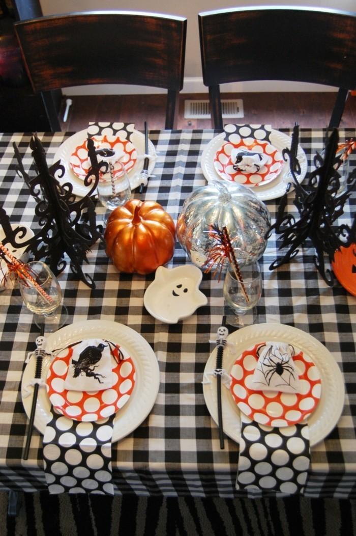halloween deko halloween party tischdeko