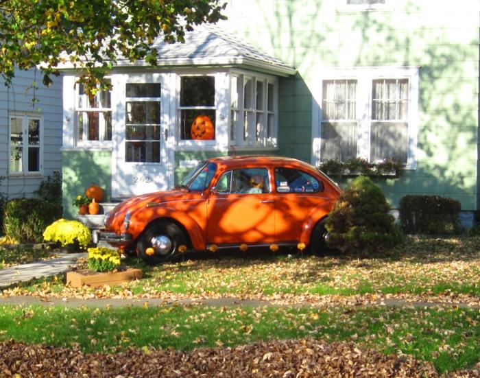 halloween deko ideen halloween kürbisse