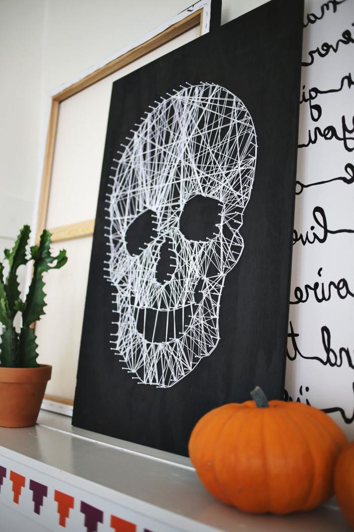 halloween ideen dekoartikel mit typischen symbolen