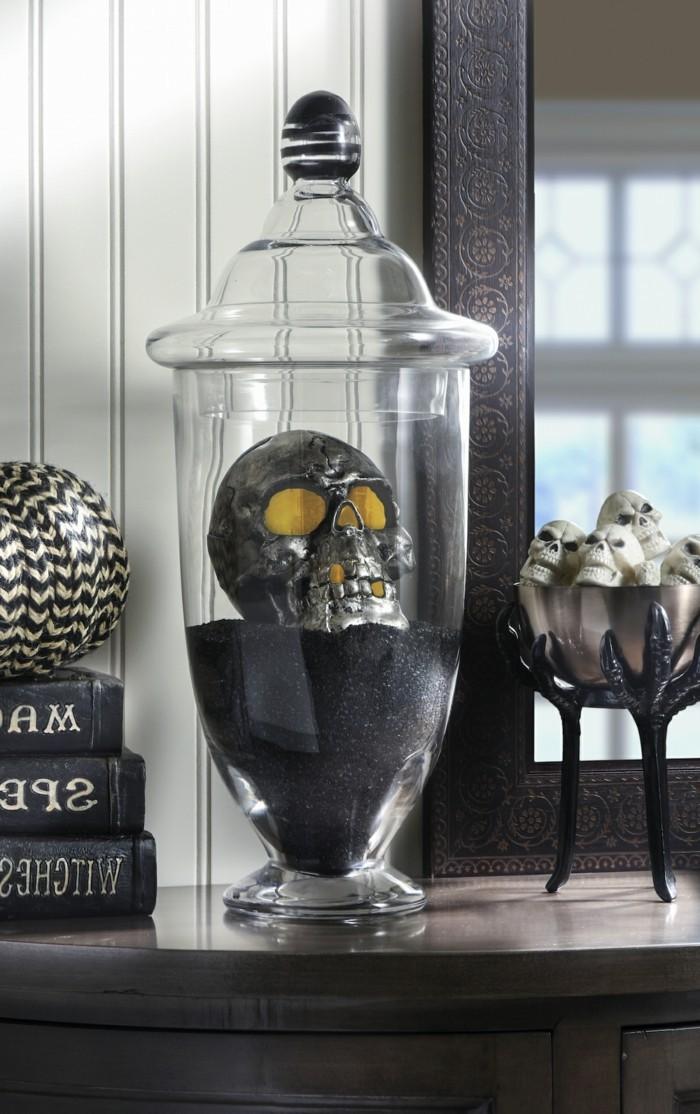 halloween ideen stilvolle gruselige dekoration für den wohnbereich