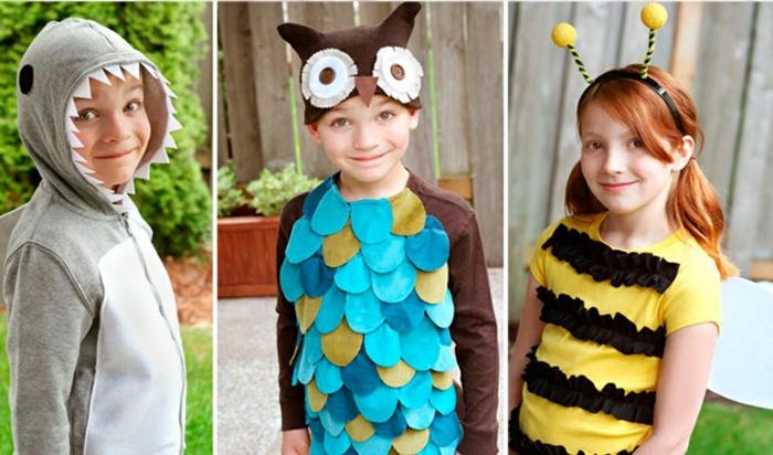 halloween kostüm kinder ideen tiere