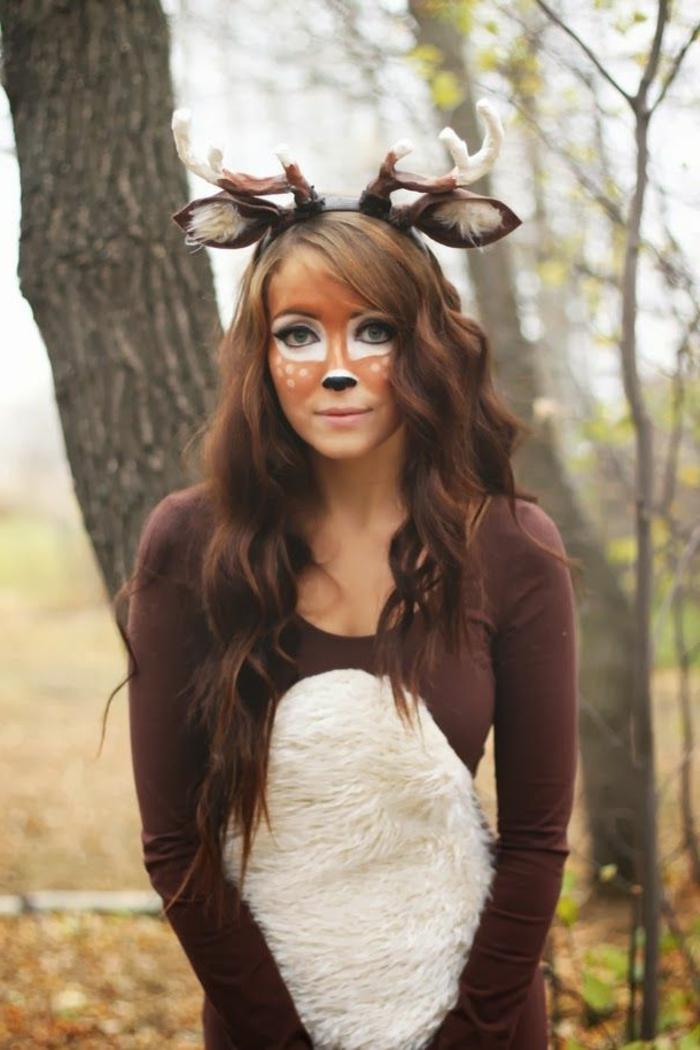 halloween kostüm tier mädchen ideen