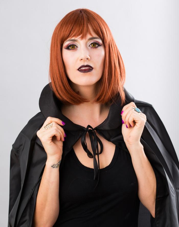 halloween kostüme ideen vampir frauen