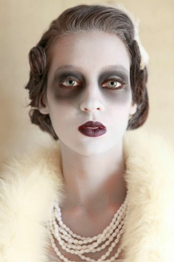 halloween schminkideen für frauen braut leiche