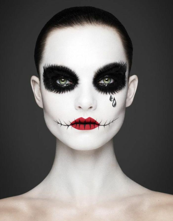 Halloween Schmink Ideen.Halloween Schminkideen Fur Damen So Erschrecken Sie Richtig