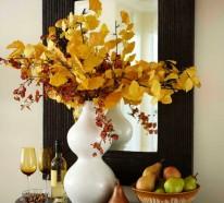 Herbst Deko – Führen Sie die Pracht der Natur in Ihre vier Wände ein!
