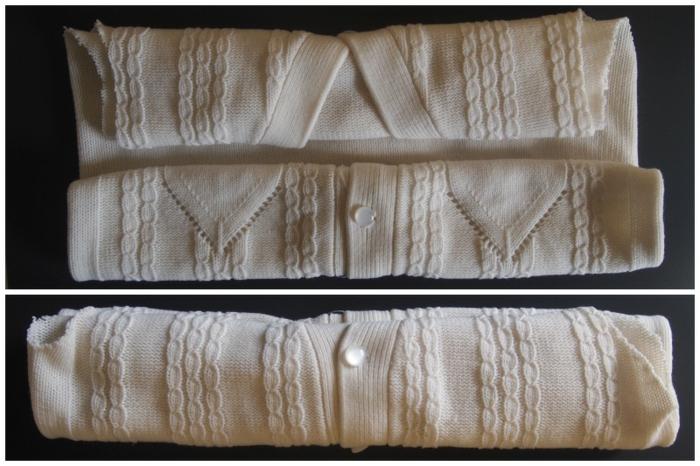 herbstdeko selber machen pullover bastelideen