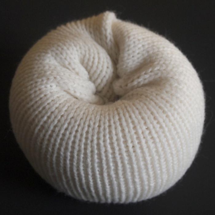herbstdeko selber machen weißer pulli bastelideen