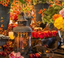 Herbstliche Tischdeko mit Naturmaterialien kreieren