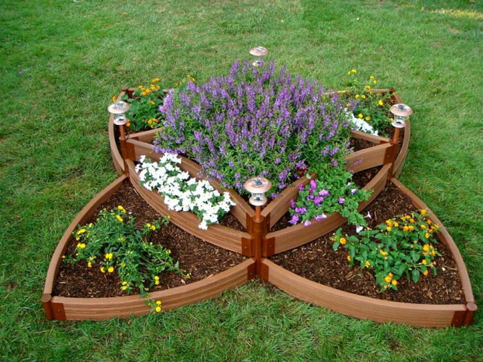 Curved Front Raised Garden Bed