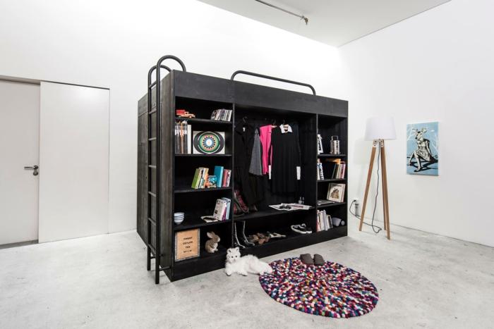 hochbetten f r erwachsene living in a box hat schon eine andere. Black Bedroom Furniture Sets. Home Design Ideas
