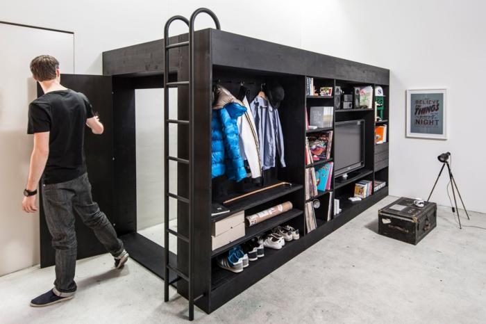 hochbetten für erwachsene living cube designermöbel ideen holz möbel