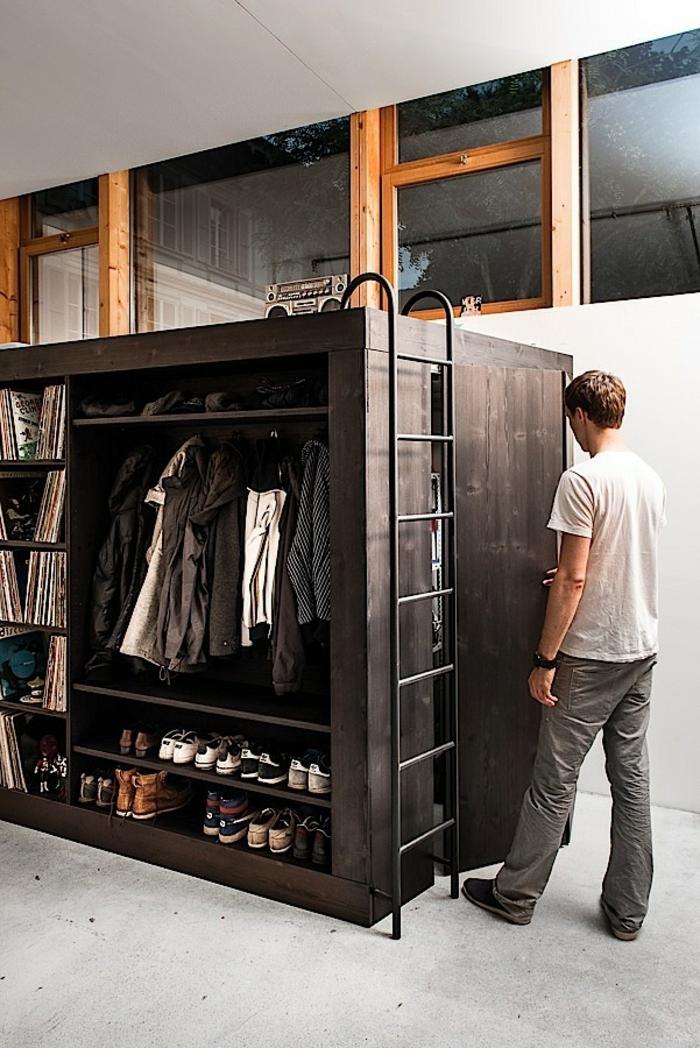 hochbetten für erwachsene living cube designermöbel schrank und bett