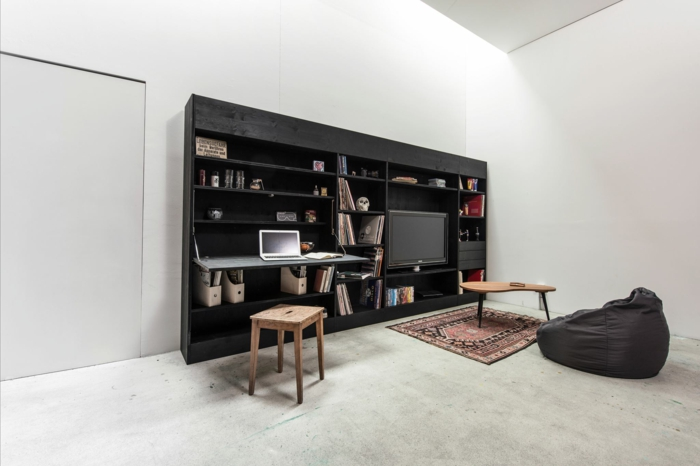 hochbetten f r erwachsene living in a box hat schon. Black Bedroom Furniture Sets. Home Design Ideas