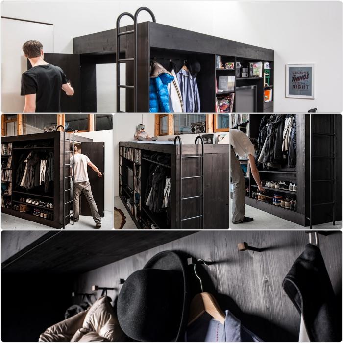 hochbetten für erwachsene mit leiter living cube designer möbel