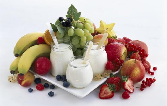 hoher blutdruck frische früchte gemüse fettarme milchprodukte