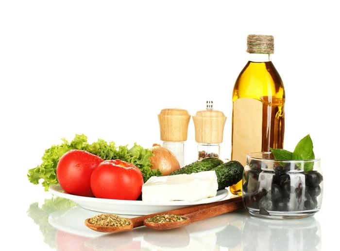 hoher blutdruck olivenöl mediterrane küche