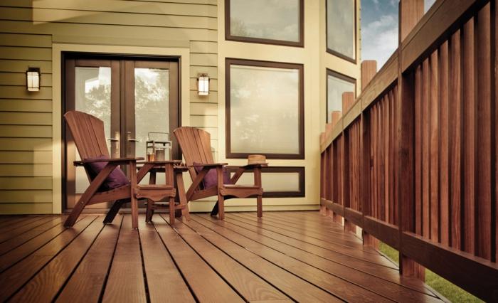 holzarten bodenbelag terasse veranda nadelbaumholz