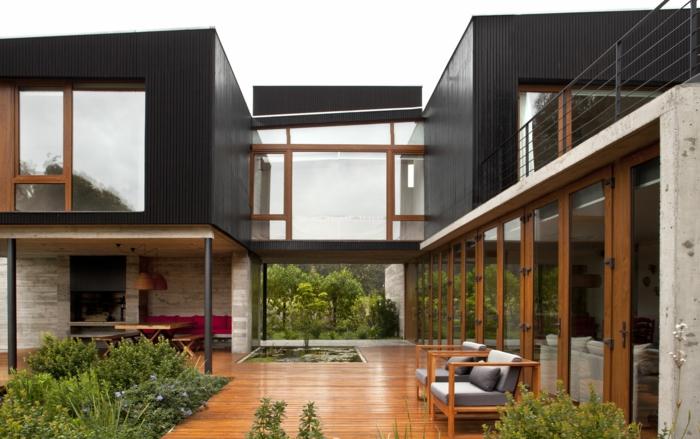 holzarten bodenbelag veranda terrasse