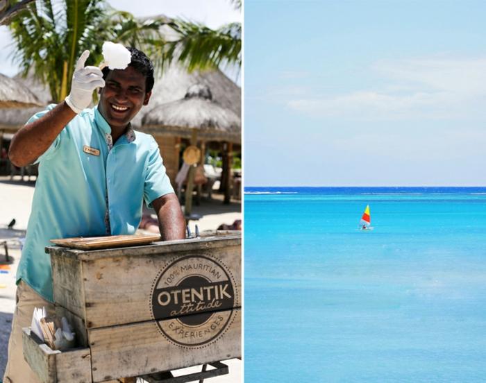 hotel Zilwa Attitude urlaub auf mauritius stammbevölkerung