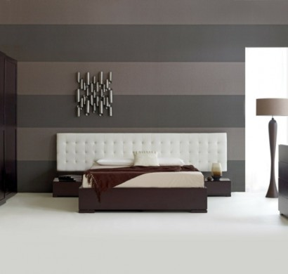 wohnzimmer farben beige braun wandgestaltung wohnzimmer streifen, Schlafzimmer ideen
