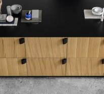 Ikea Küchenmöbel verleihen der modernen Küche einen raffinierten Look