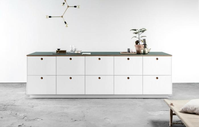 Einrichtungsideen küche ikea  Ikea Küchenmöbel verleihen der modernen Küche einen raffinierten Look