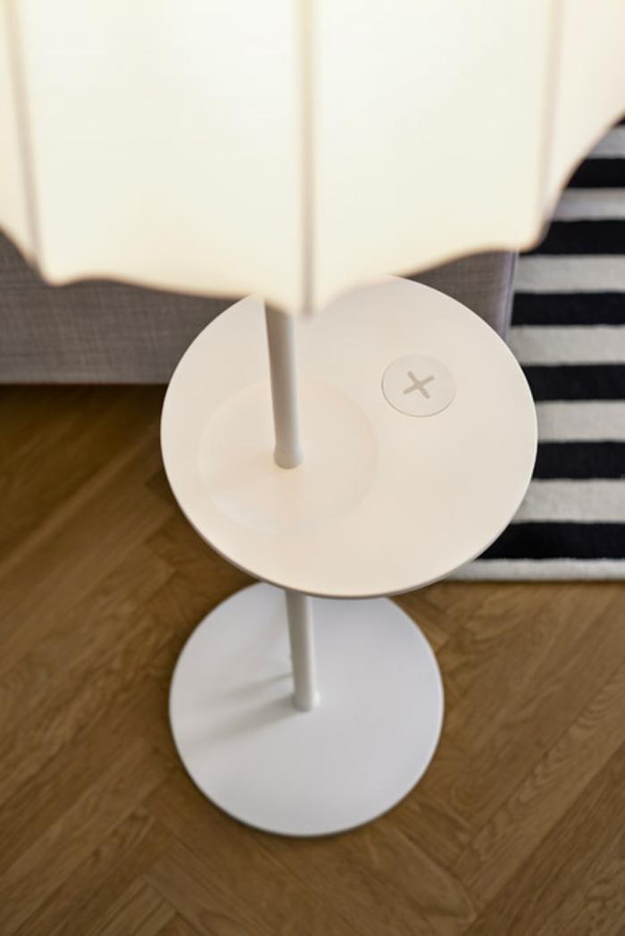 ikea wohnzimmermöbel tischlampe mit integreiertem ladegerät