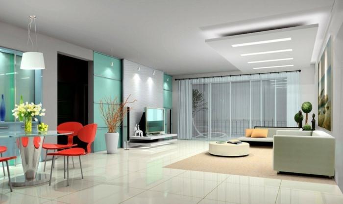 indirekte beleuchtung led beleuchtung offener wohnplan frische akzente. Black Bedroom Furniture Sets. Home Design Ideas