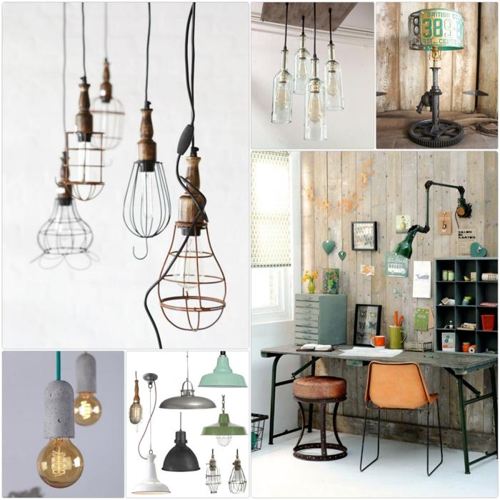 industrielampen verleihen dem ambiente einen besonderen charme. Black Bedroom Furniture Sets. Home Design Ideas