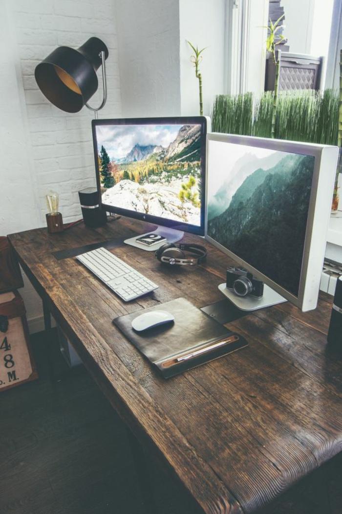 Industrielampen verleihen dem ambiente einen besonderen charme for Schreibtisch tumblr
