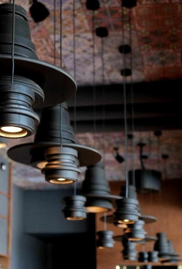 industrielampen und industrial style möbel