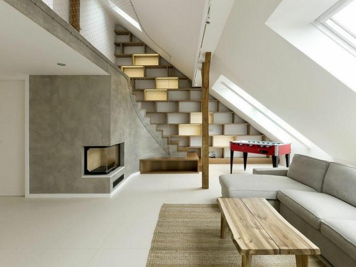 Dachgeschoss Modern Gestalten Junge ~ Moderne Inspiration, Modern Dekoo