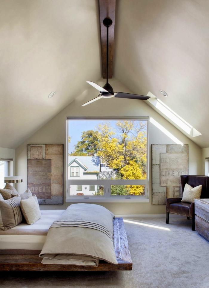 Innendesign Schlafzimmer Klein Modern Dachgeschoss Einrichten U2013 Ein  Optimales Und Charmantes Innendesign Schaffen | Einrichtungsideen ...