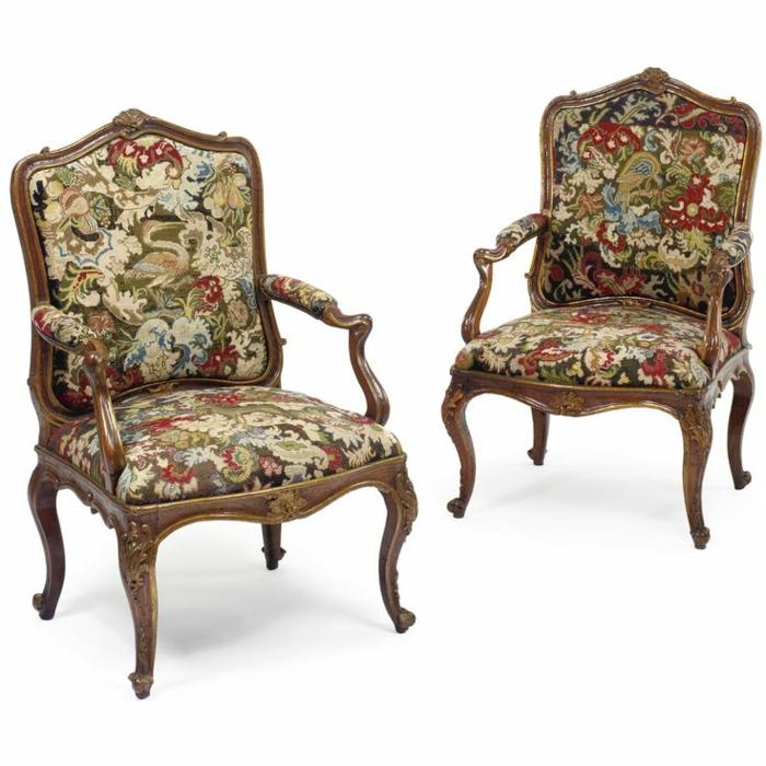 italienische polstermöbel antik möbel rokoko stühle