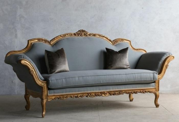 italienische polstermöbel antik möbel rokoko stil sofa