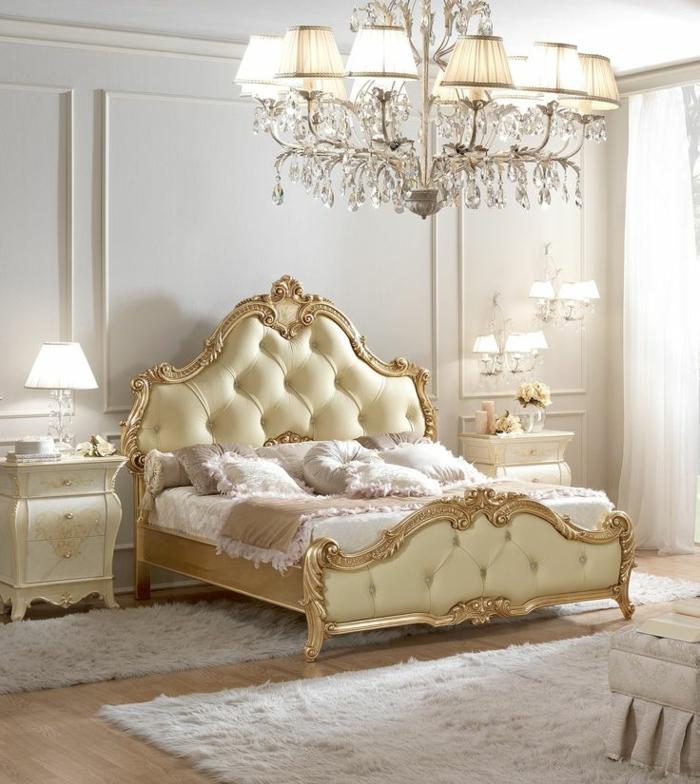 italienische polstermöbel schlafzimmer polsterbett