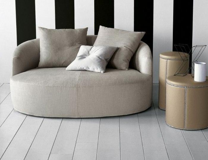italienische möbel wohnzimmer möbel sofa beistelltische hocker