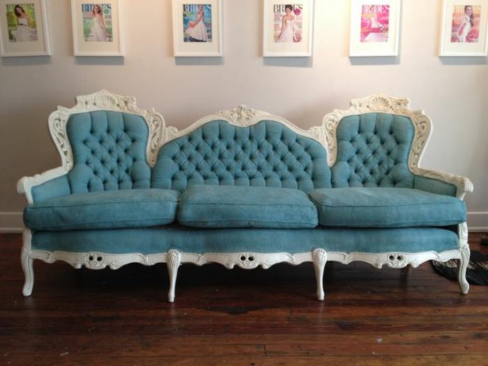 italienische möbel wohnzimmer sofa rokoko stil