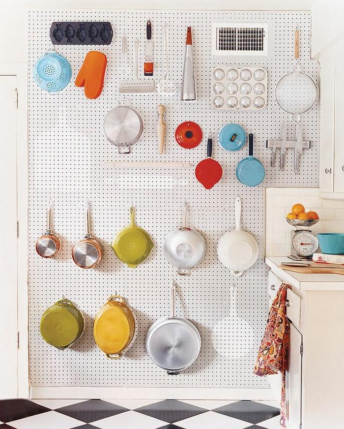praktische wohnideen küche - mehr lagerraum schaffen, Hause ideen
