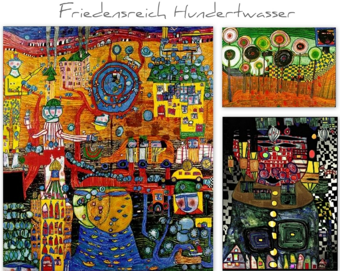 friedensreich hundertwasser ein au ergew hnlicher k nstler. Black Bedroom Furniture Sets. Home Design Ideas
